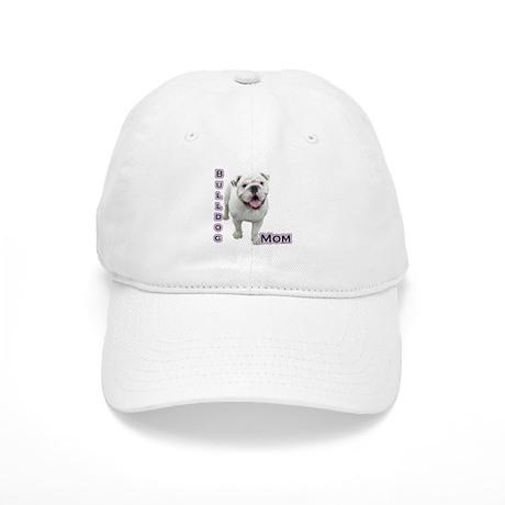 Bulldog Mom4 Cap