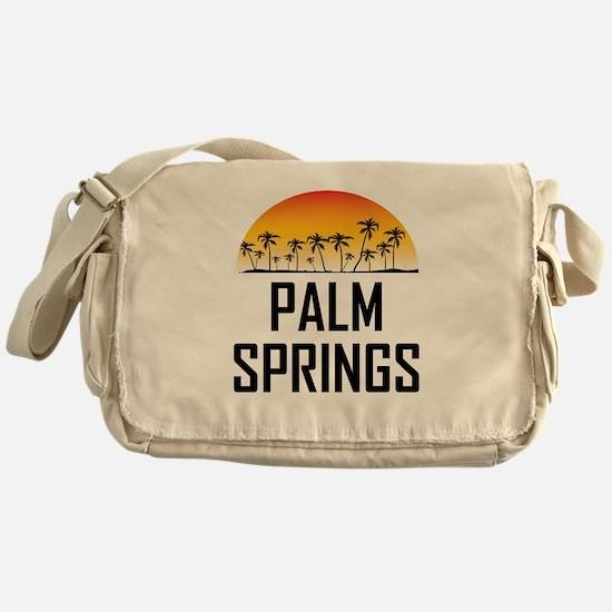 Palm Springs Sunset Messenger Bag