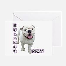 Bulldog Mom4 Greeting Card