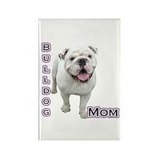 Bulldog Mom4 Rectangle Magnet
