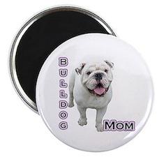 """Bulldog Mom4 2.25"""" Magnet (100 pack)"""