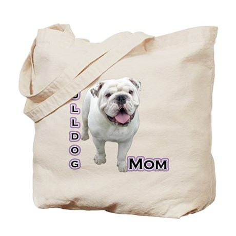 Bulldog Mom4 Tote Bag