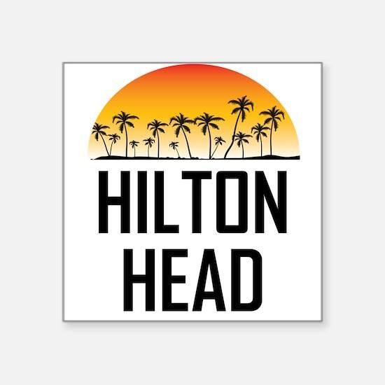 Hilton Head Sunset Sticker