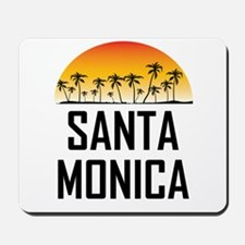 Santa Monica Sunset Mousepad