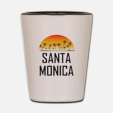 Santa Monica Sunset Shot Glass