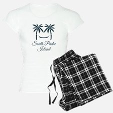 Palm Trees South Padre Island T-Shirt Pajamas