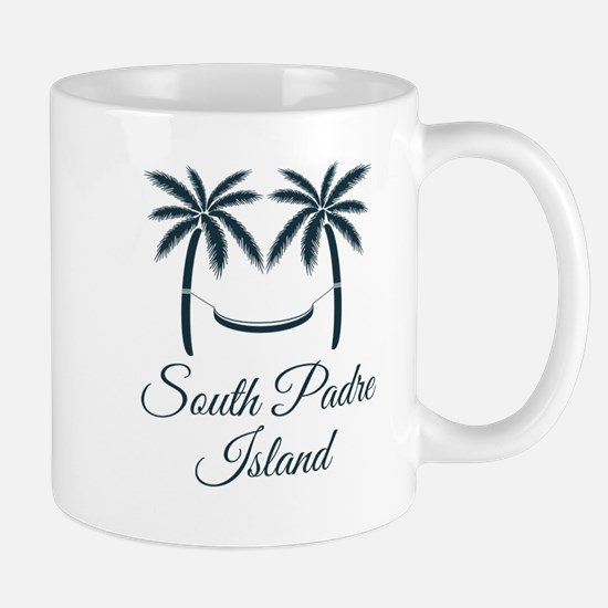 Palm Trees South Padre Island T-Shirt Mugs