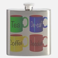 Unique De colores Flask
