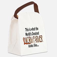 Worm Farmer Pride Canvas Lunch Bag