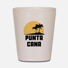Palm Trees Punta Cana T-Shirt Shot Glass