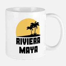 Palm Trees Riviera Maya T-Shirt Mugs