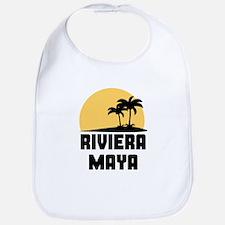 Palm Trees Riviera Maya T-Shirt Bib