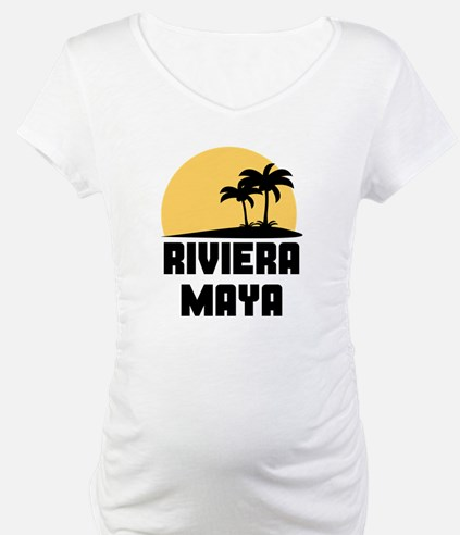 Palm Trees Riviera Maya T-Shirt Shirt