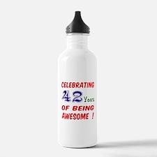 Celebrating 42 years o Water Bottle