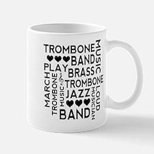 Trombone Band Music Mugs