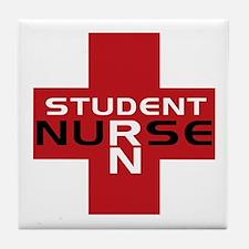 Student RN Tile Coaster