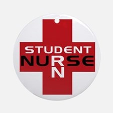 Student RN Ornament (Round)