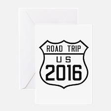 Road Trip US 2016 Greeting Cards