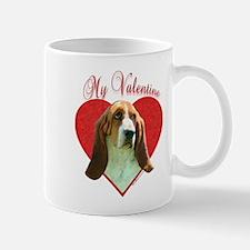 Basset Valentine Mug