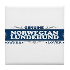 NORWEGIAN LUNDEHUND Tile Coaster