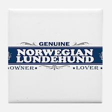 NORWEGIAN LUNDEHUND Tile Coaster