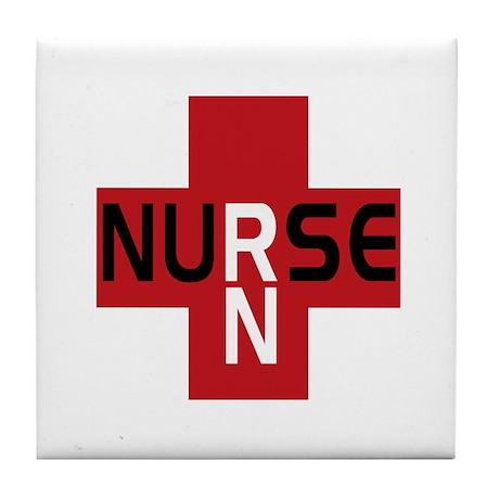 Nurse - RN Tile Coaster
