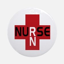 Nurse - RN Ornament (Round)