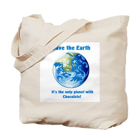 """Save the Earth"" Tote Bag"