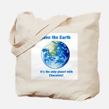 """""""Save the Earth"""" Tote Bag"""