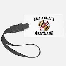Maryland Fun Luggage Tag