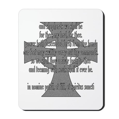 Brothers Creed Mousepad