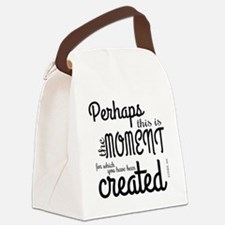 Funny Bible Canvas Lunch Bag