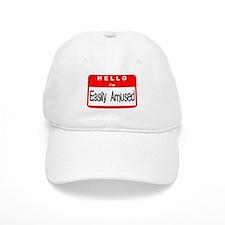Hello I'm Easily Amused Baseball Cap