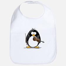 Violin Penguin Bib