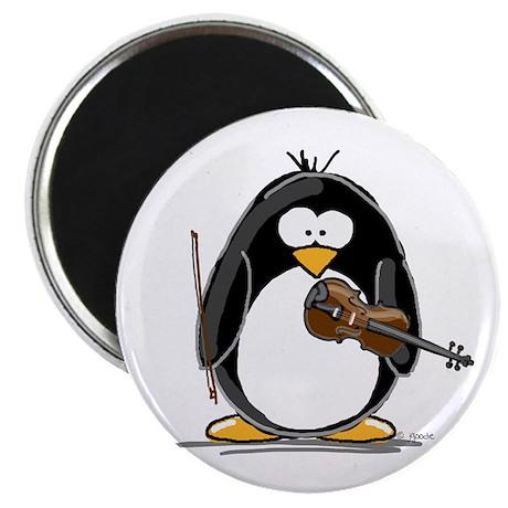 Violin Penguin Magnet