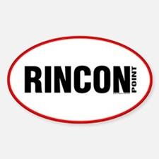 Rincon Point Oval Decal