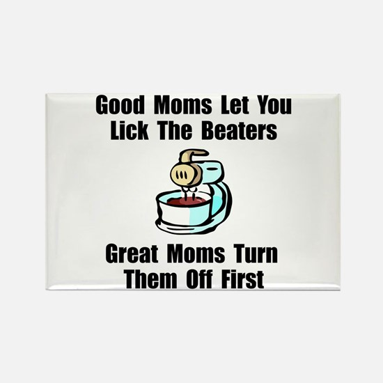 Mom Lick The Beaters Magnets