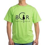 Cat rescue Green T-Shirt