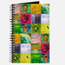 Smiling Buddha Patchwork Journal