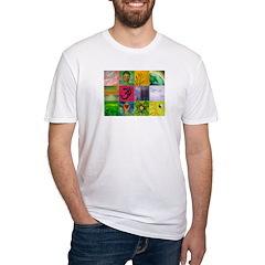 Smiling Buddha Patchwork Shirt