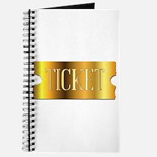 Simple Golden Ticket Journal