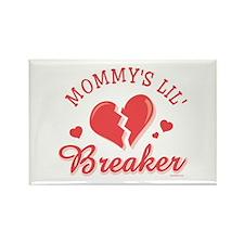 Mommy's Lil' Heartbreaker Rectangle Magnet