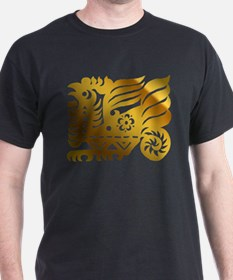Chinese Zodiac Rooster Paper Cut T-Shirt