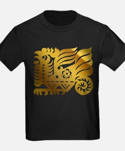 Chinese Zodiac Rooster Paper Cut T
