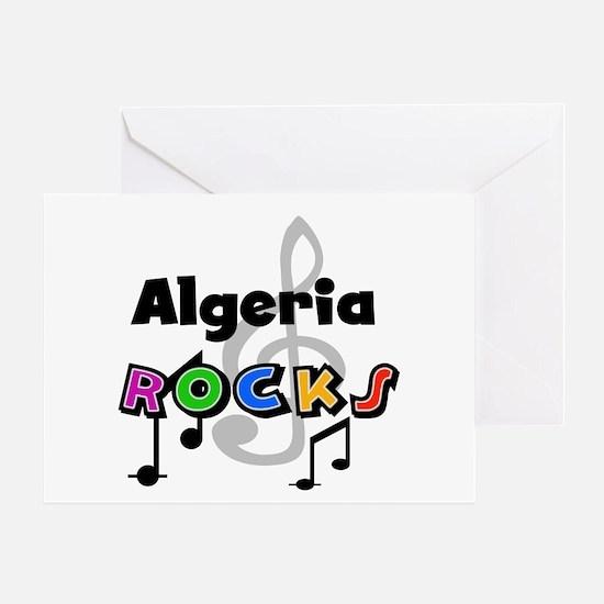 Algeria Rocks Greeting Card