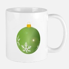 Green Bauble Decoration Mugs