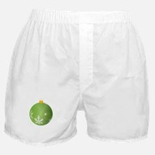 Green Bauble Decoration Boxer Shorts
