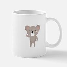 Friendly waving koala Mugs