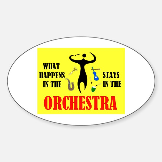 ORCHESTRA Oval Decal