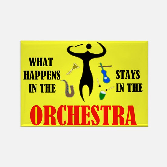 ORCHESTRA Rectangle Magnet